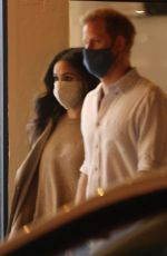 MEGHAN MARKLE and Prince Harry Out for Dinner in Santa Barbara 10/06/2020