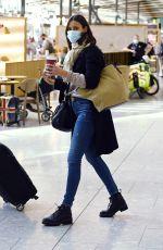 MELANIE SYKES at Heathrow Airport in London 10/15/2020