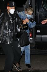 MILEY CYRUS Arrives at Bowery Hotel in New York 09/30/2020