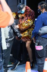 MILEY CYURS Out and About in New York 09/30/2020