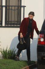 MISCHA BARTON Leaves Her Home in Los Feliz 10/09/2020