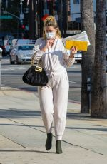 MISCHA BARTON Out and About in Los Angeles 09/30/2020