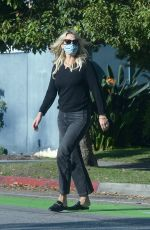 MOLLY SIMS Out and About in Los Angeles 10/16/2020