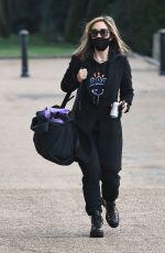 MYLEENE KLASS Arrives at Dancing On Ice Studios in London 10/15/2020