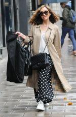 MYLEENE KLASS Arrives at Her Smooth Radio Show in London 10/27/2020