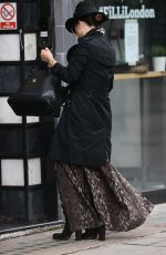 MYLEENE KLASS Arrives at Smooth Radio in London 10/09/2020