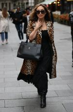 MYLEENE KLASS Arrives at Smooth Radio in London 10/17/2020