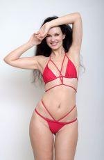 NATASHA BLASICK in a Red Bikini for Social Media 10/11/2020