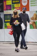 NICKY HILTON Out in New York 10/07/2020