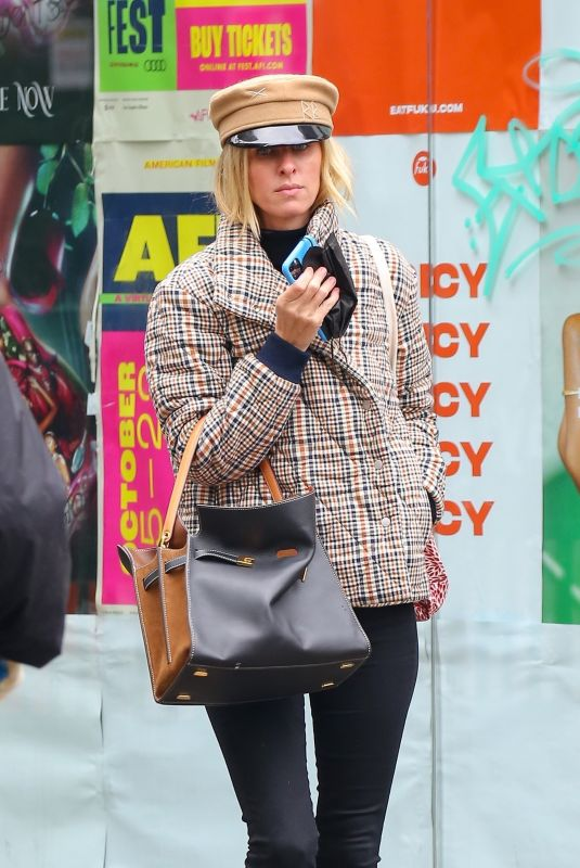 NICKY HILTON Out in New York 10/28/2020