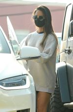 OLIVIA MUNN Leaves a Gym in Los Angeles 10/06/2020