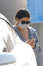 OLIVIA MUNN Leaves Workout in Los Angeles 10/19/2020