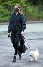 olivia palermo oUT WITH Mr. Butler in New York 10/20/2020
