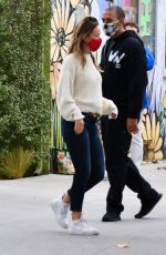 OLIVIA WILDE Out and About in Los Angeles 10/22/2020