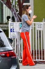 OLIVIA WILDE Out in Los Angeles 10/19/2020