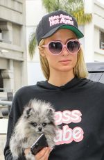 PARIS HILTON and Carter Reum at LAX Airport in Los Angeles 10/22/2020