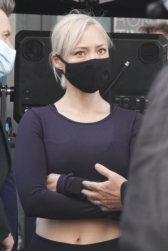 POM KLEMENTIEFF on the Set of Mission: Impossible 7 in Rome 10/11/2020