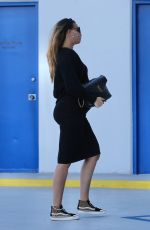 Pregnant APRIL LOVE GEARY Out in Santa Monica 10/27/2020