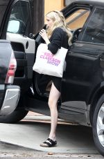 Pregnant EMMA ROBERTS Out in Los Angeles 10/23/2020