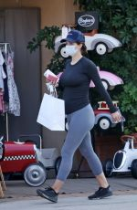 Pregnant KATHARINE MCPHEE and David Foster Out Shopping in Montecito 10/06/2020