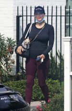 Pregnant KATHARINE MCPHEE Out Shopping in Montecito 10/13/2020