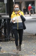 RACHAEL LEIGH COOK Out and About in Vancouver 10/04/2020