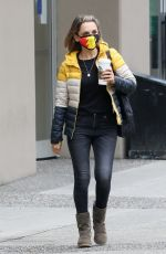 RACHAEL LEIGH COOK Out for Coffee in Vancouver 10/12/2020
