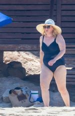 REBEL WILSON in Swimsuit at a Beach in Cabo San Lucas 10/12/2020