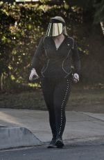 REBEL WILSON Out Hiking in Los Angeles 10/28/2020