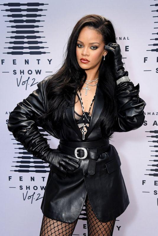 RIHANNA at Savage X Fenty Show Vol. 2 in Los Angeles 09/13/2020