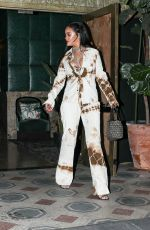 RIHANNA Out and About in Los Angeles 10/30/2020
