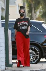 RIHANNA Out Shopping at Ralphs and Bristol Farms in Beverly Hills 10/19/2020