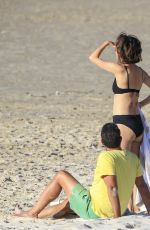 ROSE BYRNE in Bikini at Wategos Beach in Byron Bay 10/22/2020