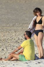 ROSE BYRNE in Bikini at Wategos Beach in Byron Bay 10/22/2020