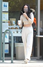 RUMER WILLIS Out with her Dog in Los Angeles 10/19/2020