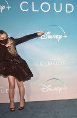 SABRINA CARPENTER at Clouds Premiere at Disney+ Drive-In Festival in Santa Monica 10/12/2020