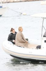 SAILOR BRINKLEY on a Boat Ride in The Hamptons 10/11/2020