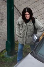 SANDRA BULLOCK on the Set of a Movie in Vancouver 10/16/2020