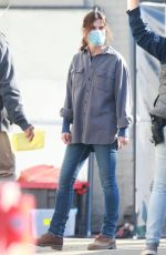 SANDRA BULLOCK on the Set of Untitled Netflix Movie in Vancouver 10/06/2020