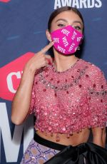 SARAH HYLAND at 2020 CMT Music Awards in Nashville 10/21/2020