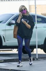 SARAH MICHELLE GELLAR Leaves PLate Fit in Los Angeles 10/16/2020