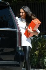 SHAY MITCHELL and Matte Babel Out in Los ANgeles 10/01/2020