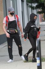 SKAI JACKSON and Alan Bersten Leaves Dance Rehersal in Los Angeles 10/24/2020
