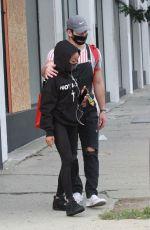 SKAI JACKSON and Alan Bersten Leaves Dance Rehersal in Los Angeles 10/24/2020