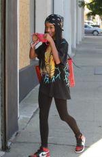 SKAI JACKSON Arrives at Dance Rehersal in Los Angeles 10/30/2020