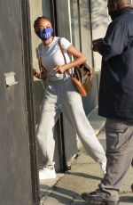 SKAI JACKSON at DWTS Studio in Los Angeles 10/17/2020
