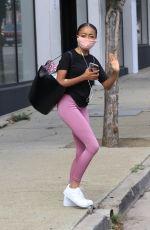 SKAI JACKSON Leaves Dance Practice in Los Angeles 10/10/2020