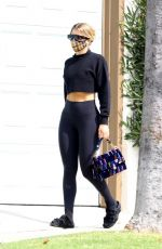 SOFIA RICHIE at Earth Bar in West Hollywood 10/08/2020
