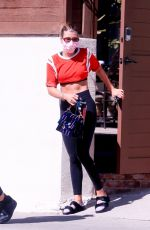 SOFIA RICHIE Heading to a Yoga Class in West Hollywood 10/12/2020