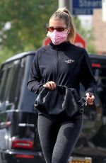 SOFIA RICHIE Leaves Yoga Class in West Hollywood 10/21/2020